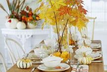 Thanksgiving / Fall decor, Thanksgiving recipes and free printables