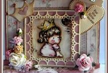 LRS Past Design Team - TIZIANA / This is where you will find all of the gorgeous designs created by Loves Rubberstamps Design Team Member - Tiziana Biagioli. You can check out more of Tiziana's work on her blog: Sweet and Coloured / by Tim & Laura Love