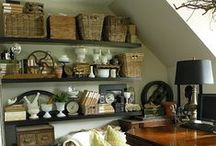 Vintage Sewing Room / Sewing Room Inspiration