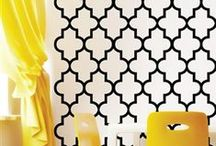 WALLTAT Pop Graphic / Removable wall decals that install with DIY ease.  Pop Culture WALLTAT decals add personality to any decor.  Each design is offered in 34 colors and 5 sizes!