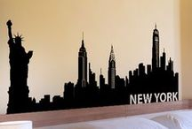 WALLTAT Scenery / Removable wall decals that install with DIY ease. These Scenery WALLTAT decals add personality to any decor. Offered in 34 colors and 5 sizes!