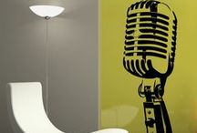 WALLTAT Music / Removable wall decals that install with DIY ease. These Music WALLTAT decals add personality to any decor. Offered in 34 colors and 5 sizes!