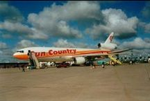 Sun Country Legacy / Everyone has a story to tell. Ours begins with a passionate group of Braniff flight attendants and pilots with a dream.