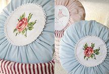 Cushions and pillows / Yapılması gereken yastık örnekleri
