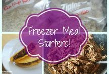 Freezer Meals and Crock Pot meals / I need easy ideas for heathy recipes for Pinky on the go.