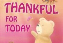 Thankful For Today / Thankful For Today: inspiring Kids and the  big kind in all of us to be thankful.