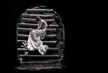 La Tristesse Et Solitude = Sadness + Solitude / La tristesse , La solitude  , seule , seul , depression , deprime Loneliness, Sadness , depression , alone , lonely , chagrin  / by La Mode Di Savoia