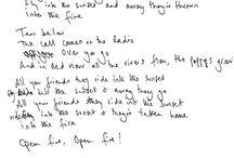 Song lyrics <3