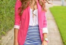 Bright Winter Pinks / Bright Winter Pink Outfits and Combinations