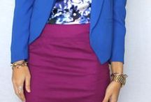 Bright Winter Purples / Bright Winter Purple Outfits and Combination