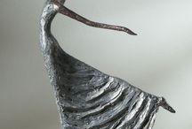 Paverol, Sculpturen en Papier Mache / Paverol, Sculpturen en Papier Mache