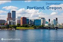 Portland, Oregon / Portland is Oregon's largest city, and is as diverse as its many nicknames suggest. Whether you call it by its official nickname, City of Roses, or Bridgetown, P-Town, Stumptown, or PDX, this city is the gateway to the Pacific Northwest. Travelers taking advantage of a Portland vacation package will discover its unique culture is both welcoming and down-to-earth.