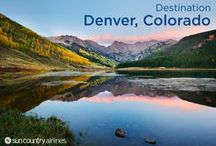 "Denver, Colorado / Denver, also known as the ""Mile High City,"" sits at the base of the Rocky Mountains and has been a gateway to The West for hundreds of years — at first for settlers and gold miners and now for those who enjoy the great outdoors."