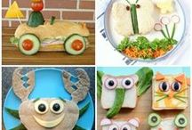 Lunchbox Ideas for Kids / Homemade school lunch box ideas for kids - fun themes, lunch-ables style, bento, healthy ideas, and more!