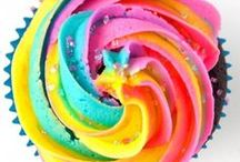 Rainbow Recipes / Celebrate color! Rainbow and unicorn poop recipes perfect for kids, birthdays, and parties.