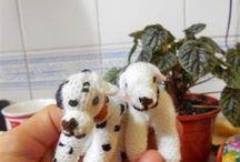 Mis perros amigurumi