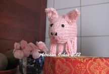 Mis Cerdos amigurumi