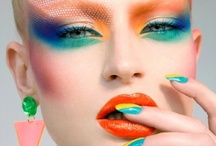 Colour craze makeup / All things colourful and creative ideas for jazzing up your makeup box!