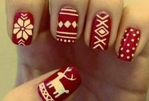 Christmas Nail Art! / Get into the festive spirit with these inspirational, Christmas themed nails!!
