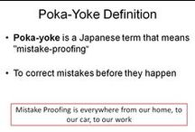 Poka Yoke / Error Proofing Examples and Resources