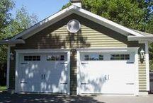 Detached Garage / All models of garage doors for your detached garage. #garagedoor #detachedgarage