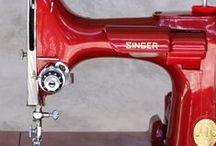 Sewing machine. Singer
