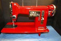 Sewing machine. Necchi. Elna