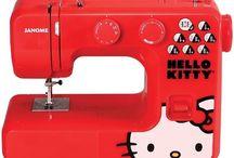 Sewing machine. Lion. Janome.