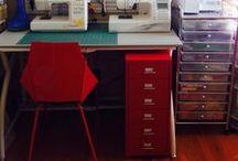 집. 워너 Sewing room