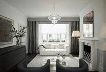 Luxurious living rooms / Beautiful rooms to lounge in