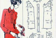 패턴 원피스 튜닉