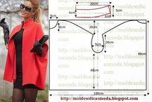 패턴 자켓 코트