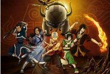 Avatar The Legend Of Aang/Avatar The Legend Of Korra / Water , Earth, Fire, Air