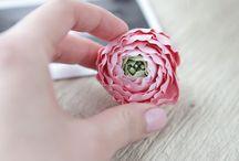 Цветы ручной работы / Цветы ручной работы, decoclay,