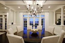 Dining Worthy  /  Different styles of dining rooms worthy of entertaining.