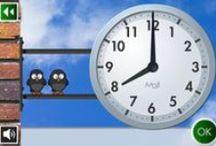 Matemáticas: ¿Qué hora es?
