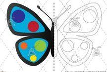 Simetrías / Trabajamos atención y lateralidad