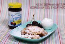 Ricette con virtù! / Ricette con confetture e marmellate Virtù di Frutta Orogel