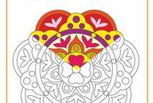 Láminas para colorear: Mandalas