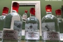 Award-winning gins / Gins - mostly small batch - like ours