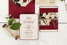 wedding invitation - partecipazioni / Partecipazioni per matrimoni ed eventi