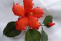 Cukorvirágok készitése