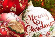 Christmas / trees, baubles, lights, table decorations, wall decorations, window decorations, door decorations ...