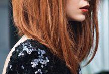 Hair / Haircut. Mittellange Haare.