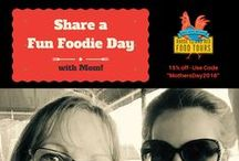 Rhode Island Red Food Tours / Places We Go, People Eating & Having Fun on our tours!
