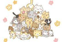 Ilustraciones: Gatos