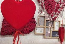 Valentines day / Composizioni e allestimenti per il giorno degli innamorati