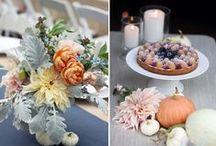 Autumn inspired / Idee originali per un evento a tema autunnale