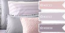 Colour palettes / colours, patterns, fabrics