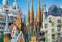 Barcelona - Gaudi- Modernismo